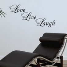 Love Live Laugh  ~ Wall sticker / decals